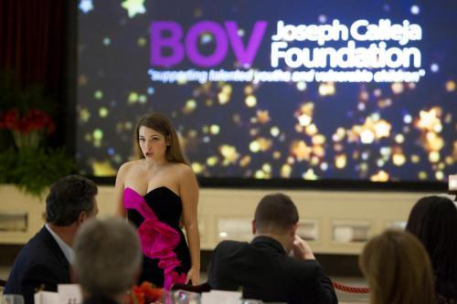 Nicola Said in BOV Joseph Calleja Foundation Patron's Gala Dinner, Corinthia Hotel Malta