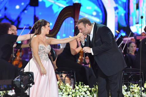 Nicola Said singing in Joseph Calleja's Annual Summer Concert © Jean Pierre Gatt