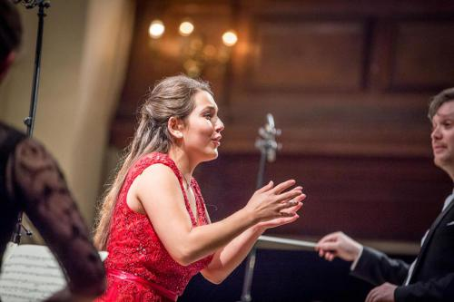 Nicola Said & Jonathan Bloxham conducting the Northern Chords Festival Orchestra at the Europe Concert Day, St. John's Smith Square © Jamie Smith