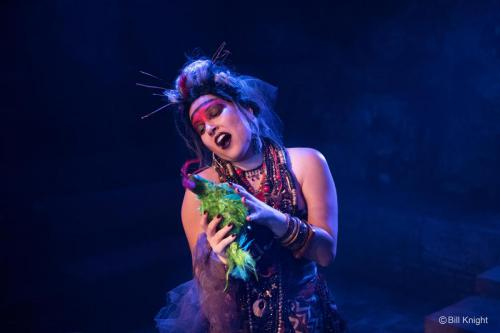 Nicola Said as Queen of the Night, (The Magic Flute, Charles Court Opera, King's Head Theatre) © Bill Knight